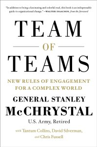http://www.amazon.ca/Team-Teams-Rules-Engagement-Complex-ebook/dp/B00KWG9OF4/ref=sr_1_1?ie=UTF8&qid=1434282365&sr=8-1&keywords=team+of+teams+kindle