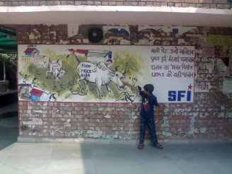 The Next Generation..JNU Campus-Delhi-India Each generation must discover its mission, fulfill it or betray it, in relative opacity Frantz Fanon, The Wretched of the Earth